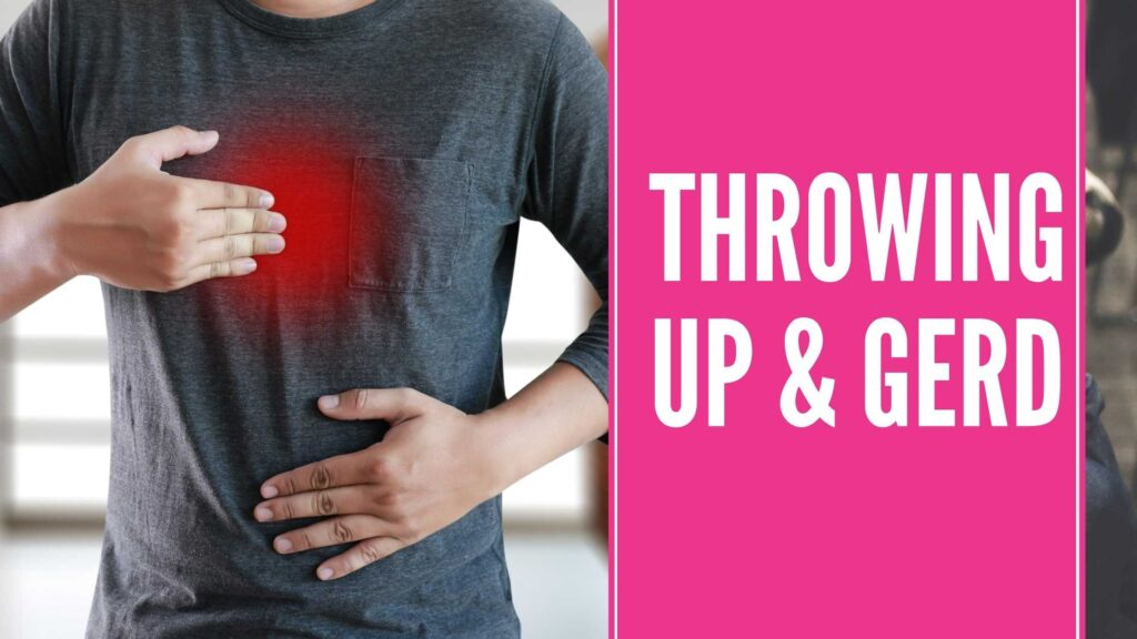 Does Throwing Up Make Acid Reflux Better